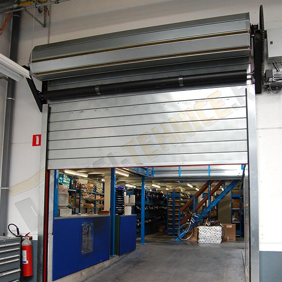 rulou antifoc industriale pentru unitati de productie si depozitare