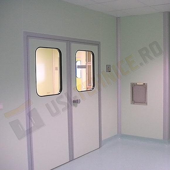 Usi batante laminate HPL vitrate