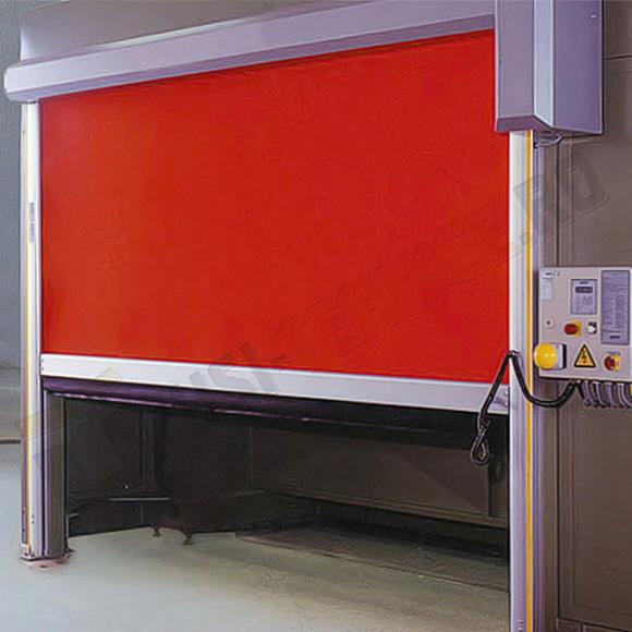 usa rapida de interior cu canat din panel integral si toc din aluminiu
