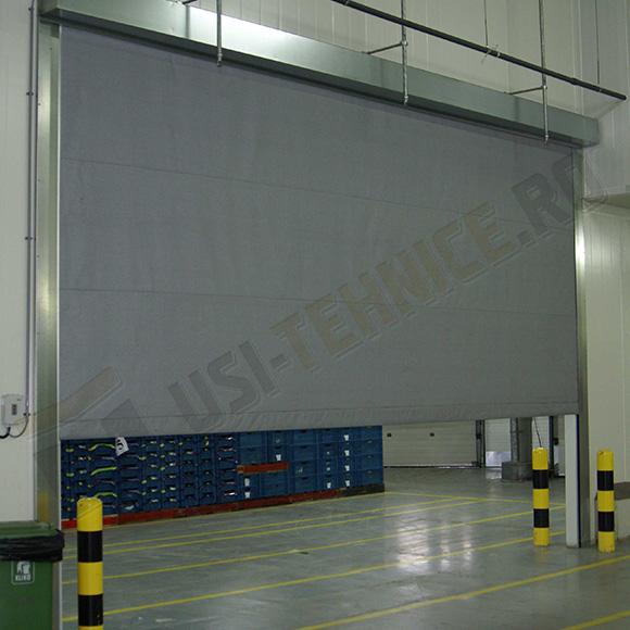 cortina antifoc industriala din fibra de sticla