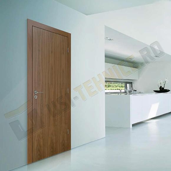 usa antifoc de lemn acoperita cu HDF cu 1 canat in mediu rezidential