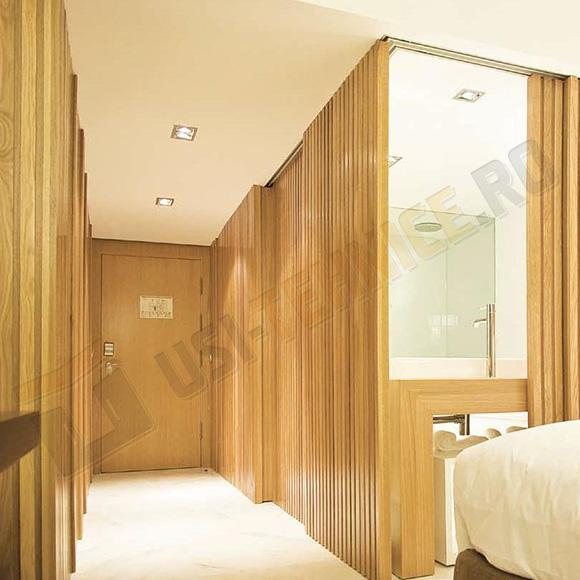 usa antifoc din lemn cu falt pentru hoteluri