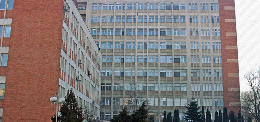exterior spitalul judetean Oradea