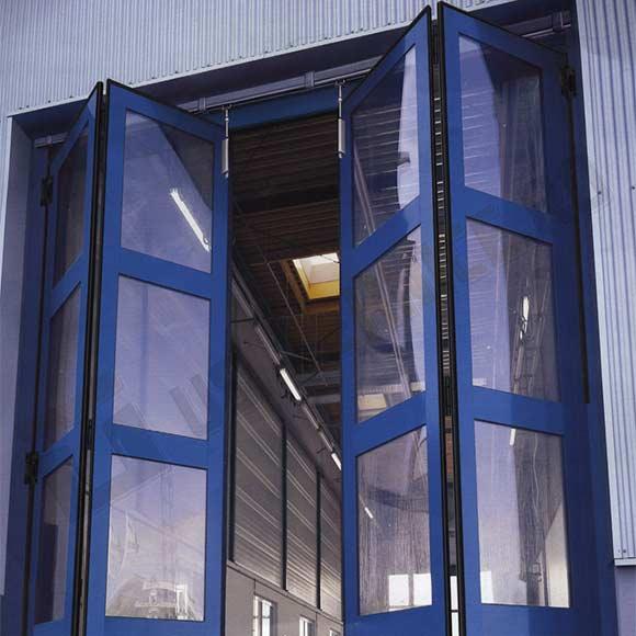 Usi pliante industriale vitrate
